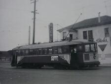 USA074 MUNICIPAL RAILWAY SAN FRANCISCO 1950s TROLLEY No120 PHOTO California USA