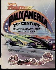 HOT WHEELS TOP SPEED RALLY AMERICA COAST TO COAST MODEL SET 1994 first edition