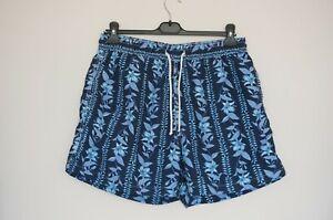 Vilebrequin Blue Floral Swim Men's Shorts Trunks Bottoms  Size:XXL