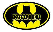 "Batman Personalized Iron On Transfer 4.5""x7.5"" For LIGHT Fabrics, Specify NAME"