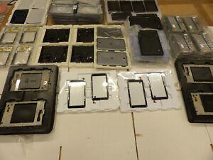 Restposten 130x Handy Tablet Ersatzteile Spare Parts Touchscreen Rahmen Alcatel