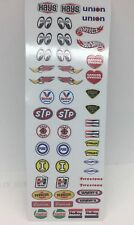 MODEL CARS..REVELL AMT (LARGE CONTINGENCY SPONCER DECALS ) ~1/24-1/18 SCALE ~