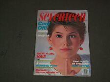 1983 JULY SEVENTEEN MAGAZINE - JEANETTE SCHAEFFERS COVER - F 639