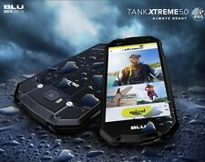 BLU Tank XTREME 5.0 T490Q 4G Water Resistant Android GSM Unlocked Phone Black