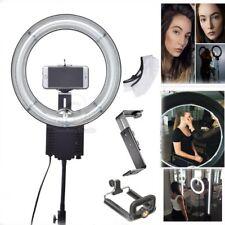 Studio 40W 5400K Diva Ring Lamp Light + Diffuser + Camera iPhone Holder Kit 110V