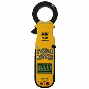 UEI DL419 Industrial True RMS Clamp-On Meter 1000A AC/DC