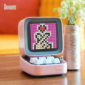 Divoom Ditoo Retro Pixel art Bluetooth Portable Speaker