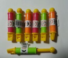 12 Pull Whistles Party Bags Favours Toys Vending Novelty