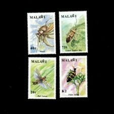 VINTAGE CLASSICS - Malawi - Insects - Set of 4 Stamps - MNH
