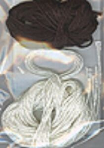 Winter Cottage White and Black Silk Accessory Pack -Victoria Sampler New