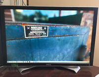 Used DELL ULTRASHARP 2408WFP 24-inch Widescreen Flat Panel Monitor with stand