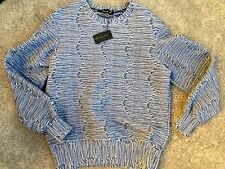 NEW WHITNEY EVE LS Thick Textured Baggy Style Sweater SZ See Description COMFY
