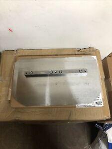 "Power Trowel Blades Set of 4 Concrete Trowel Combination Blades 8""x14"" Floating"