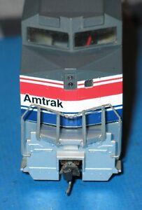 Walthers Used Vintage Amtrak HO 519 Diesel Engine Runs DUSTY lights WORK