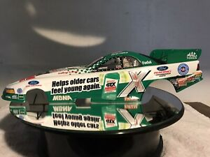 ACTION COLLECTABLE  JOHN FORCE 1/24th CASTROL GTX  2003 MUSTANG FUNNY CAR