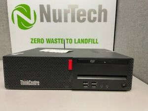 Lenovo Thinkcentre M710s SFF Intel i5 7400 3.0Ghz 8GB 500GB DVD WIFI Linux
