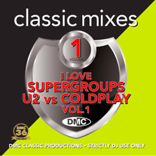 I Love Supergroups: U2 vs. Coldplay Vol. 1 CD - DMC Classic Mixes