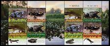 Israel 2014 Amphibien Frösche Amphibians Frogs Kleinbogen MNH