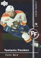 2000-01 Upper Deck Fantastic Finishers Hockey Cards Pick From List