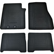 FORD EXPEDITION GENUINE OEM CUSTOM FITTED ALL-WEATHER RUBBER MAT SET - 4 PIECE