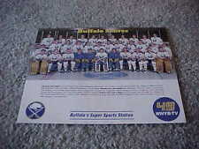 1987 Buffalo Sabres NHL Team Photo