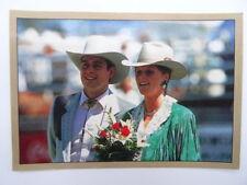 The Royal Family Sticker Album Panini 1988 - No.146- Duke/Duchess of York.Canada
