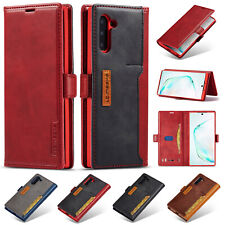 For Samsung Galaxy Note 10+/ Note10 Luxury Leather Flip Wallet Stand Case Cover