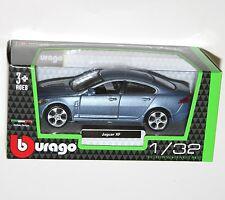 Burago - JAGUAR XF (Blue) Model Scale 1/32