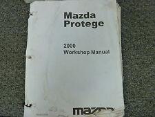 mazda protege service repair workshop manual 1995 1998