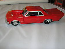 1:18 - 1964 Pontiac GTO Wild Street Strip RED DEVIL HAMMER!