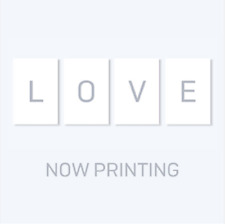 "K-POP BTS 5th Mini Album ""LOVE YOURSELF 承 'Her'"" [ 1Photobook + 1CD ] L ver"