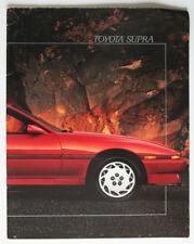 TOYOTA SUPRA 1986 brochure sales catalog - French - Canadian Market