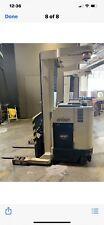 Clark Forklift Order Picker Nice Shape But Needs New Batteries