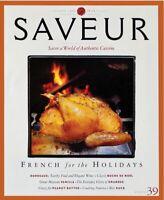 SAVEUR Magazine Number 39 December 1999  (910-16)