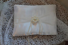 CUSCINO PORTAFEDI MATRIMONIO con gioiello. Fatto a mano! Wedding ring pillow