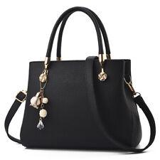 Women Bag Lady Handbag Purse Tote PU Leather Shoulder Satchel Crossbody Fashion