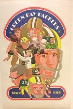 GREEN BAY PACKERS 1968 HOYLE THEME POSTER