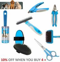 Ancol Ergo Dog Grooming Products Comb Brush Slicker Tick Scissors