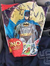#66737 UNO Batman Card Game Superhero Joker 2012 Bag Riddler Penguin Robin