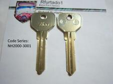 """Key Blank for MG ign. 1969 to 74 & Triumph ign/door 1971 to 81 """"see apps""""  (MG1)"""