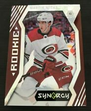 17-18 UD SYNERGY RED PARALLEL ROOKIE CAROLINA HURRICANES MARTIN NECAS! #88