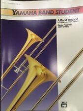 YAMHAHA BAND STUDENT TROMBONE  Method Book 1