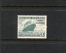 Poland Danzig Port Gdansk 1K29 MNH s441