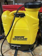 Hudson Pro NeverPump 4 Gal. Battery Powered Bak-Pak Sprayer