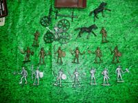 ROMAN ,GLADIATORS ,NEW MADE FIGURES  ,FUN LOT DEAL !!