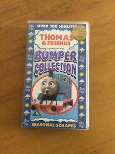 "Thomas & Friends Bumper Collection ""Seasonal Scrapes"". VHS Video. VC1619. 2001."