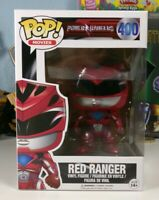 FUNKO POP Movies Power Rangers: Red Ranger Action Figure #400 - BRAND NEW