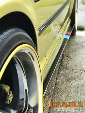 BMW E46 Gloss Side Steps Side Skirt Extensions Aero Racing Performance