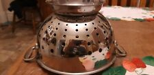 All-Clad Stainless Steel Colander Footed Pedestal Pasta Strainer