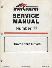 New listing 1997 Mercruiser # 11 Bravo Stern Drives Service Manual 90-17431 (372)